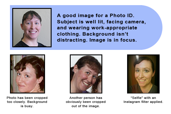 photo ID identification picture tips