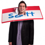 scott ginsberg change your life with a name tag