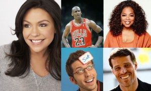 Personal Branding perzonalized identification name tags rachael ray michael jordan oprah scott ginsberg tony robbins