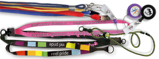 custom lanyards to meet any need add a logo or slogan for extra branding