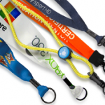 custom lanyards for schools and businesses to promote corporate branding