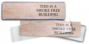 new product contemporary name plates for coller industries