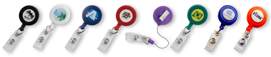 badge reels and personal identification are a great way to brand employees and volunteers