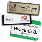 reusable name tags and name badges are perfect for any school setting