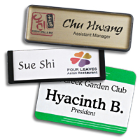 name tags are required for many business types and situations