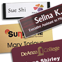 choose from reusable, one time use, or long term name tags to match your perfect name tag choice