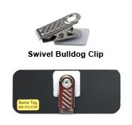 name tags are never finished without choosing from our large selection of fasteners