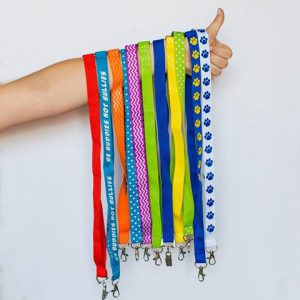 using custom lanyards for all your back to school needs and events
