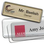 reusable name tags and mighty badges are perfect for temporary employees and visitors